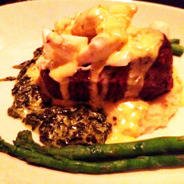 Filet Oscar - Sullivan's Steakhouse - Leawood, Leawood, KS
