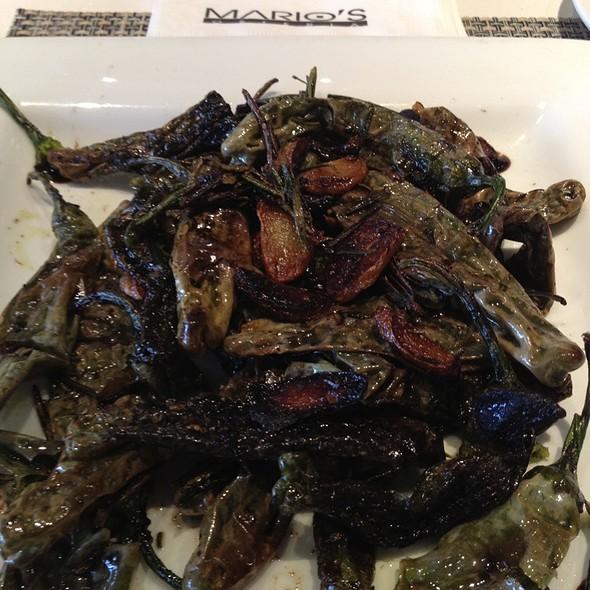 Shishitto Peppers - Mario's Osteria, Boca Raton, FL