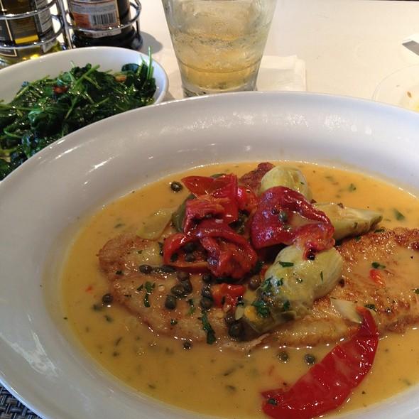 Flounder Vesuvio - Mario's Osteria, Boca Raton, FL