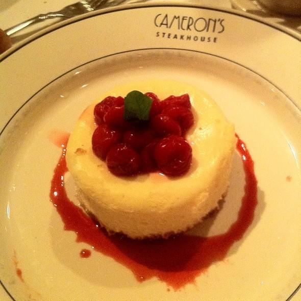 Cheesecake - Cameron's Steakhouse - Birmingham, Birmingham, MI