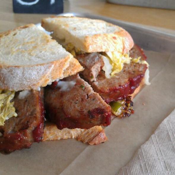 Meatloaf Sandwich - fundamental LA, Los Angeles, CA