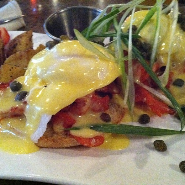 West Coast Salmon Benny - Libra Room, Vancouver, BC