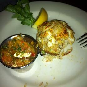 Jumbo Lump Crabcake  - Z's Oyster Bar Louisville, Louisville, KY