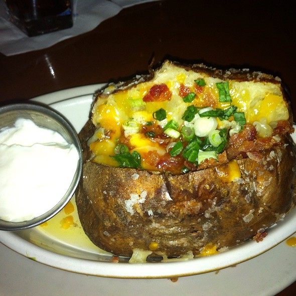 loaded baked potato - Z's Oyster Bar Louisville, Louisville, KY