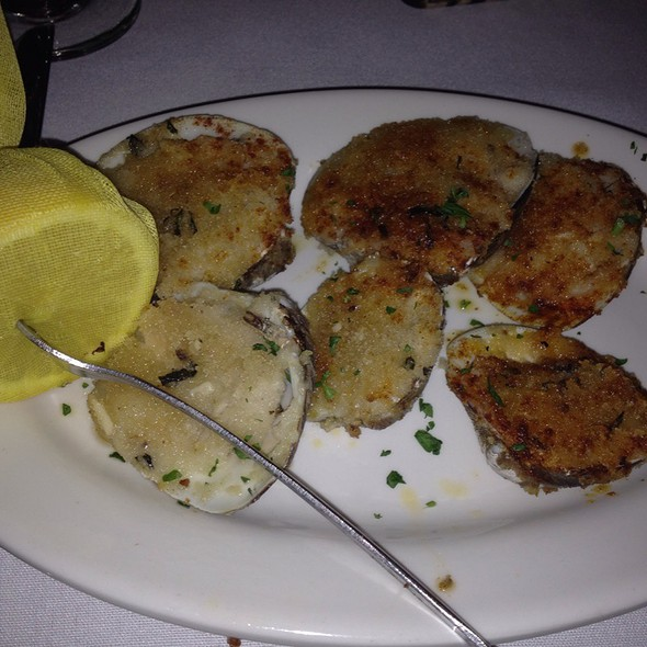 Baked Clams - Edward's Steakhouse, Jersey City, NJ