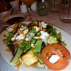 House Salad with Mango Pineapple Vinaigrette - Spezia - Steaks, Italian & Seafood, Sioux Falls, SD