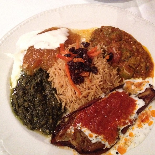 Special Vegetarian Entree - Helmand Palace, San Francisco, CA