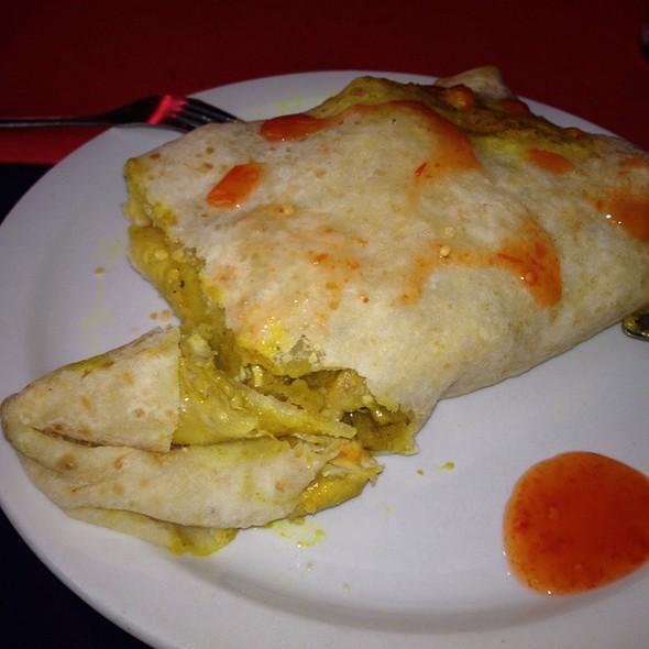 Chicken Roti - The Real Jerk Restaurant, Toronto, ON