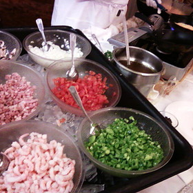 Omelette Station - Queen Mary Champagne Sunday Brunch, Long Beach, CA