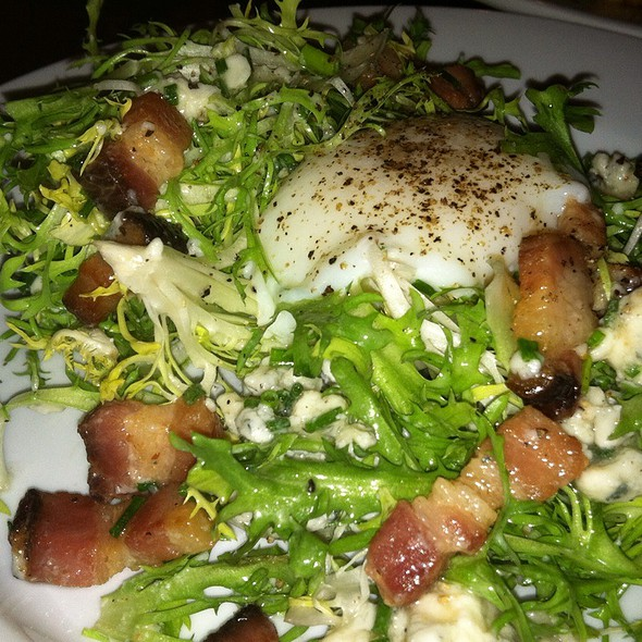 Warm Frisee Salad - Heavy Seas Alehouse, Baltimore, MD