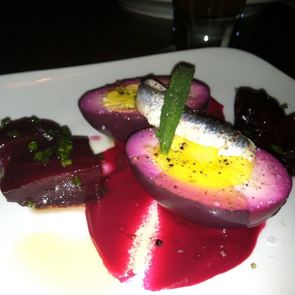 Beet Pickles Eggs - Heavy Seas Alehouse, Baltimore, MD
