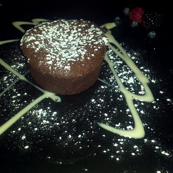 Pastel Tibio De Chocolate  - Sagrantino, Guadalajara, JAL