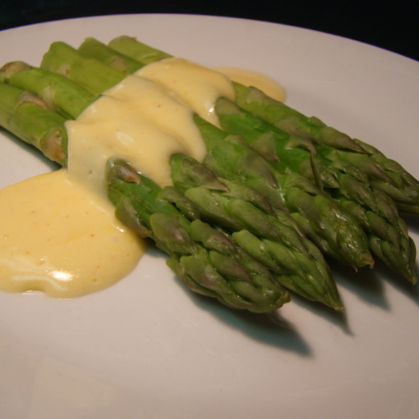 Asparagus with hollandaise - Chophouse 47 – Steaks & Lobster, Greenville, SC
