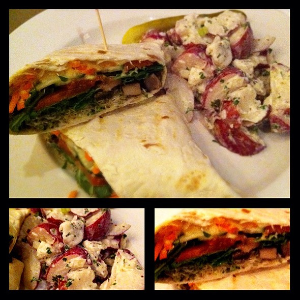 Santa Cruz Veggie Wrap Lunch - Toast Birmingham, Birmingham, MI