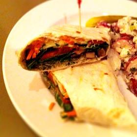 Santa Cruz Veggie Wrap - Toast Birmingham, Birmingham, MI