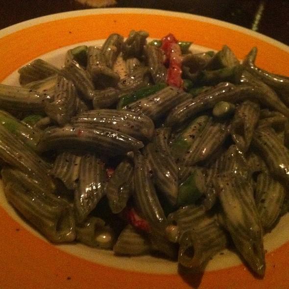 Spinach Fettuccine - Cucina di Pesce, New York, NY