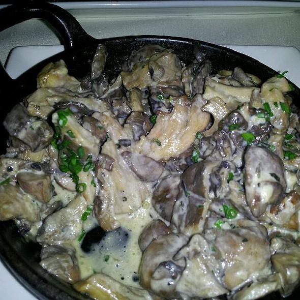 Sauteed Porcini Mushrooms - The Winery Restaurant & Wine Bar- Tustin, Tustin, CA