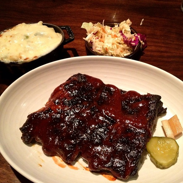 pork ribs - Q Kitchen|Bar - Hyatt Regency, San Antonio, TX