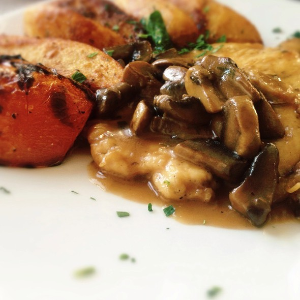 Chicken Marsala and Mushrooms - Il Canale, Washington, DC