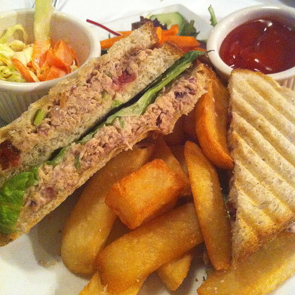 Tuna Club Sandwich - The Crooked Knife, New York, NY