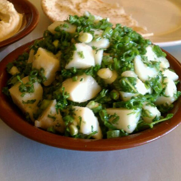 Lebanese Potato Salad - Marouch Restaurant, Los Angeles, CA