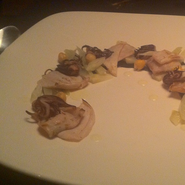 Squid With Artichoke - The Bent Brick, Portland, OR