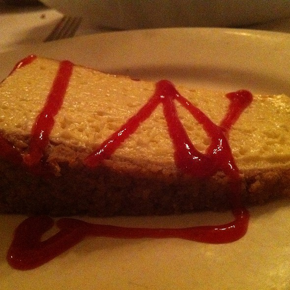 Cheesecake - Edward's Steakhouse, Jersey City, NJ
