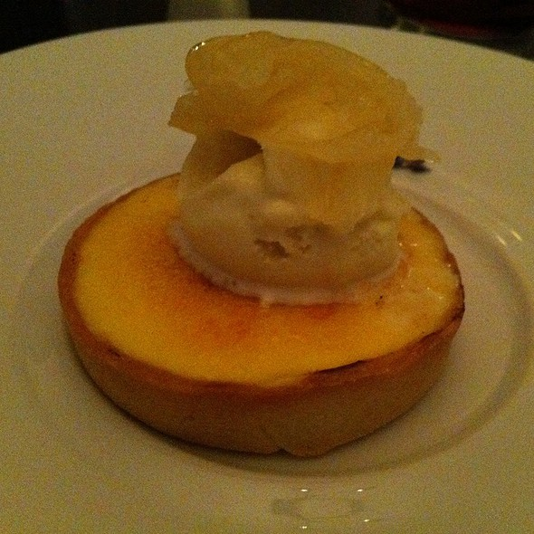 Citrus Tart And Lavender Ice Cream - Celestin, Toronto, ON