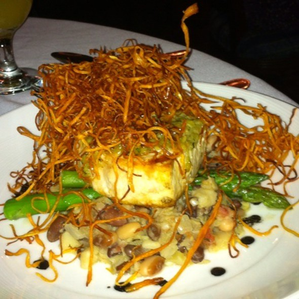 Herb Roasted Swordfish - Dan'l Webster Inn, Sandwich, MA