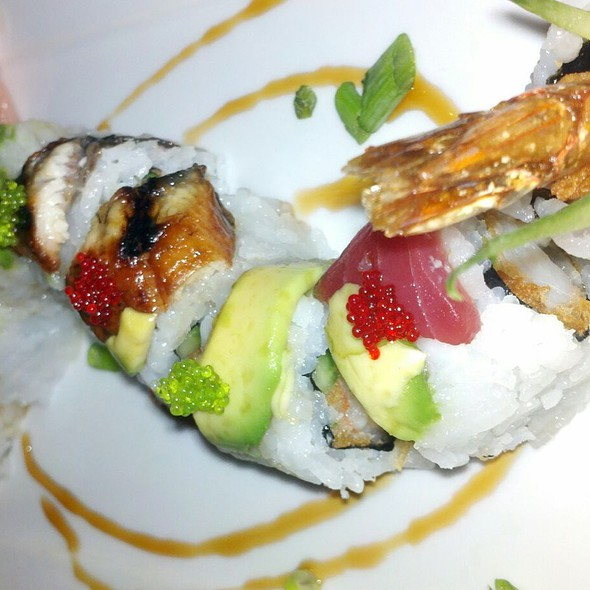 Striped Dragon Roll - Fredrick's Fusion Bistro, Incline Village, NV