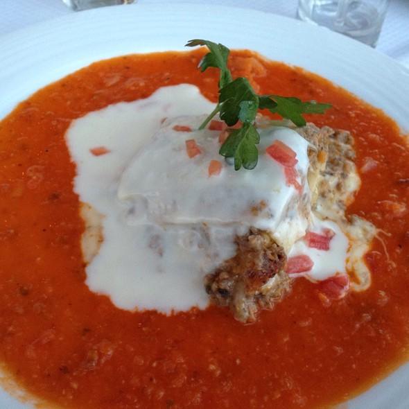Lasagna Pomodoro - Bellini Restaurante Giratorio - México, México, CDMX