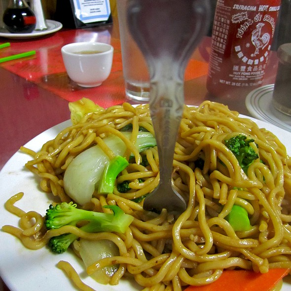 Vegetable Chow Mein - Golden Kim Tar Chinese Restaurant, San Francisco, CA