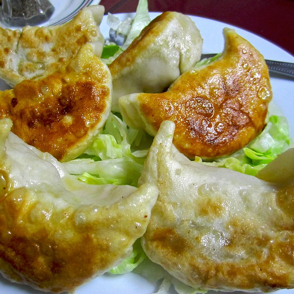 Vegetarian Pot Stickers - Golden Kim Tar Chinese Restaurant, San Francisco, CA