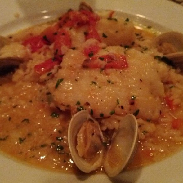 Sea Bass Rissoto - Carlucci's Waterfront, Mount Laurel, NJ