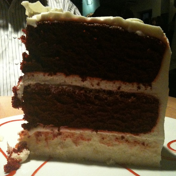 Red Velvet Cake - bb's restaurant and bar, Jacksonville, FL