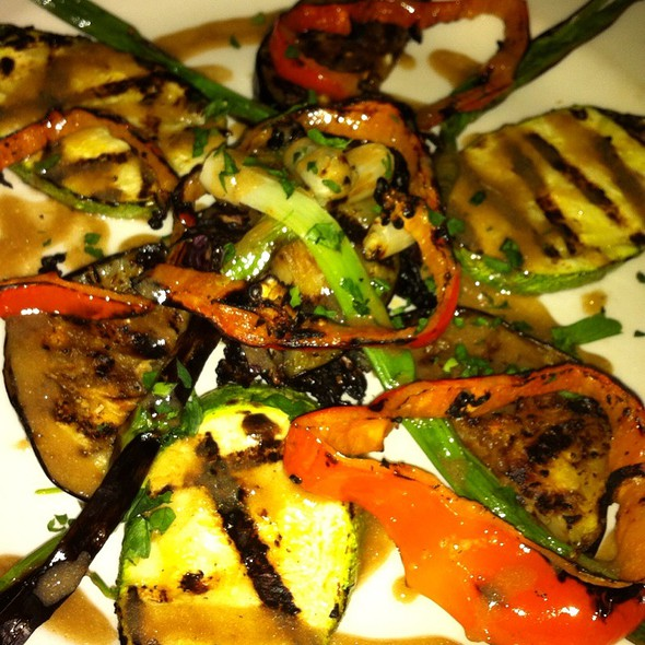 Grilled Vegetetables With Balsamic Reduction - Ristorante Milano, San Francisco, CA