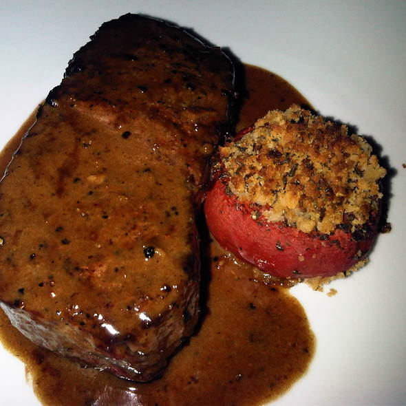 Steak Au Poivre - Bistro du Midi, Boston, MA