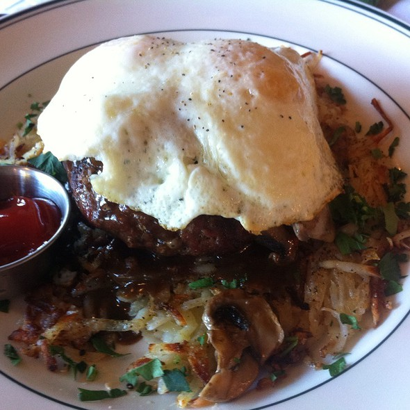 "Breakfast ""Chop Steak"" And Eggs - Daily Grill - Irvine, Irvine, CA"