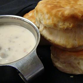 Biscuits and Gravy - Gulfstream Cafe, Garden City, SC