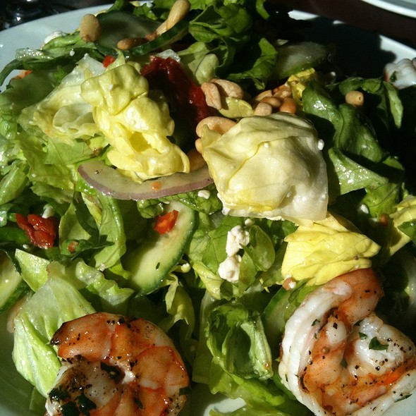 Bibb Salad With Grilled Shrimp - Grant's Restaurant and Bar, West Hartford, CT