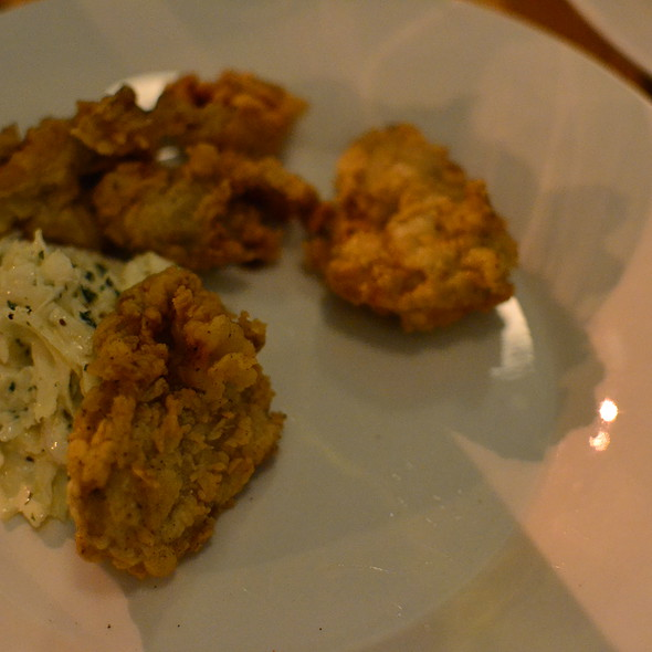 fried oysters - Pasture, Richmond, VA