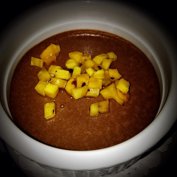 Mango Chocolate Mousse - Bangkok Garden, Toronto, ON