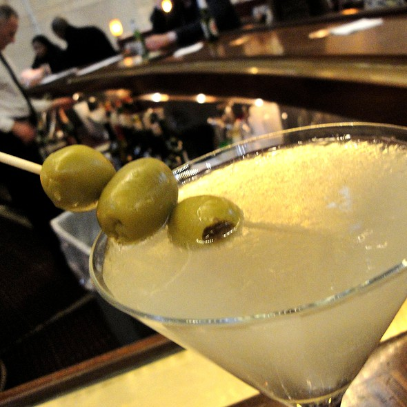 Karlsson's Gold Martini - Michael Jordan's The Steak House N.Y.C., New York, NY