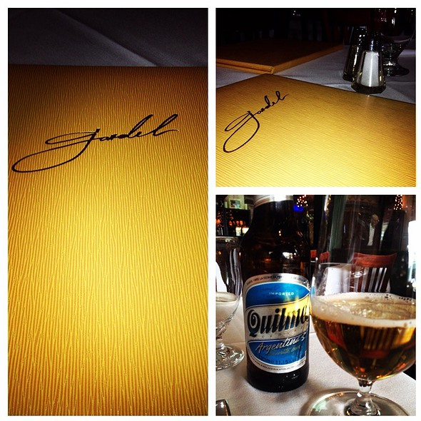 Quilmes - Carlitos Gardel Argentine Steakhouse, Los Angeles, CA