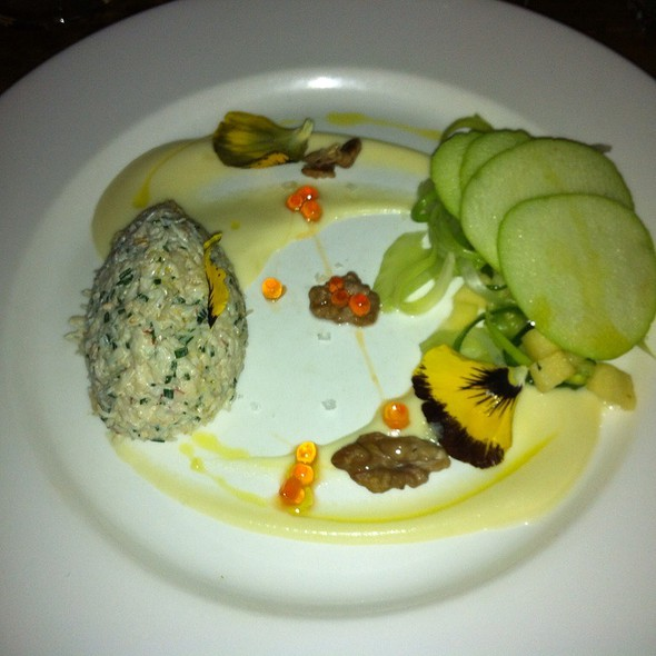 Salad Of Cornish Crab - The Exhibition Rooms, London