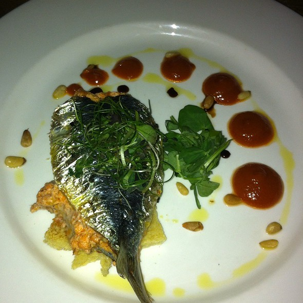 Pan Fried Black Bream - The Exhibition Rooms, London