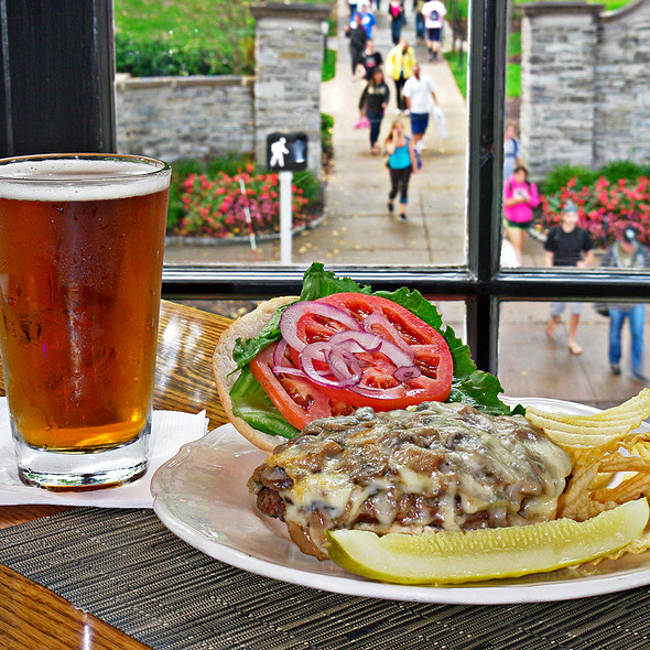 Grilled Sirloin Burger - The Allen Street Grill (Hotel State College), State College, PA