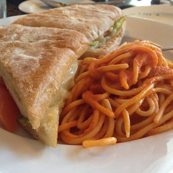 Rustica Panini With Spagetti Marinara - Fabiolus Cucina, Hollywood, CA