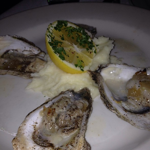 Roasted Oysters With Truffle Butter - Giorgio's of Gramercy, New York, NY