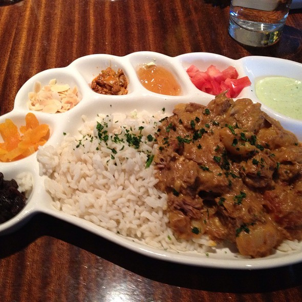 Indian Lamb Curry - Clyde's of Reston, Reston, VA